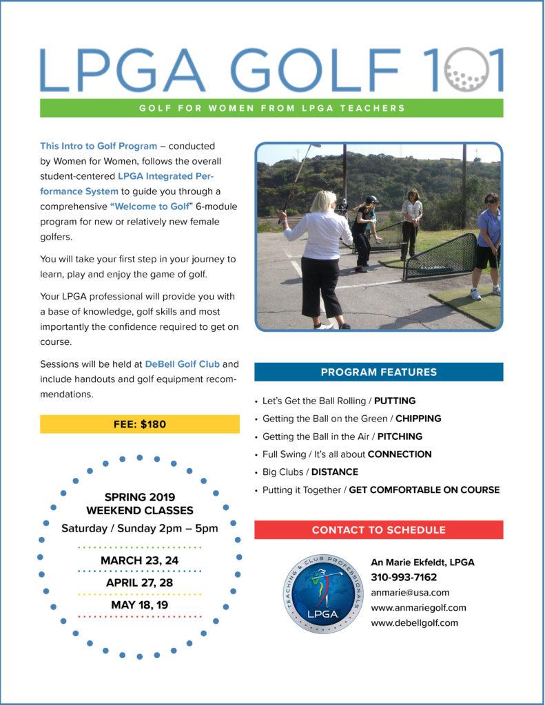 LPGA 101: 2019 Spring Schedule