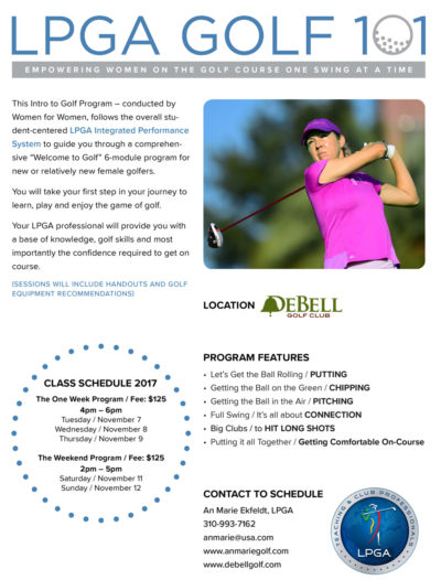 An Marie Ekfeldt Golf - LPGA Golf 101