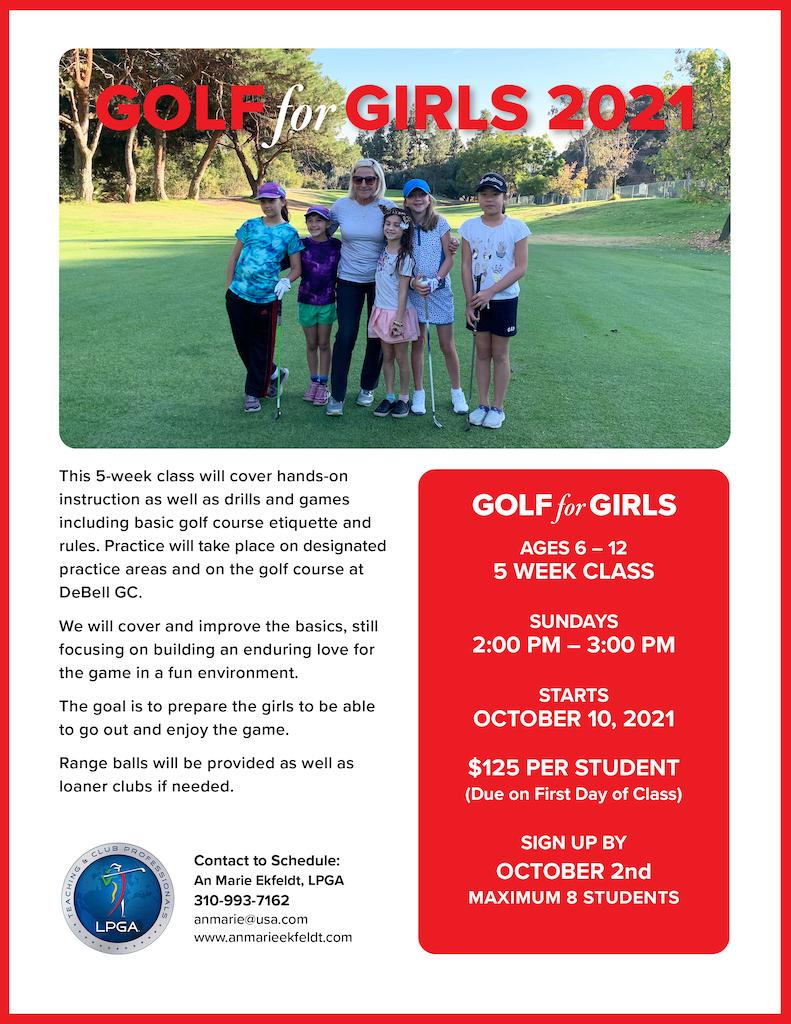 Golf for Girls 2021